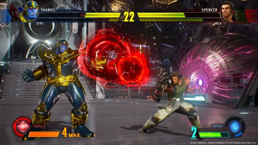 gamelover Marvel vs Capcom Infinite Screen 3